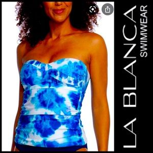 New with tags! La Blanca Tankini Top